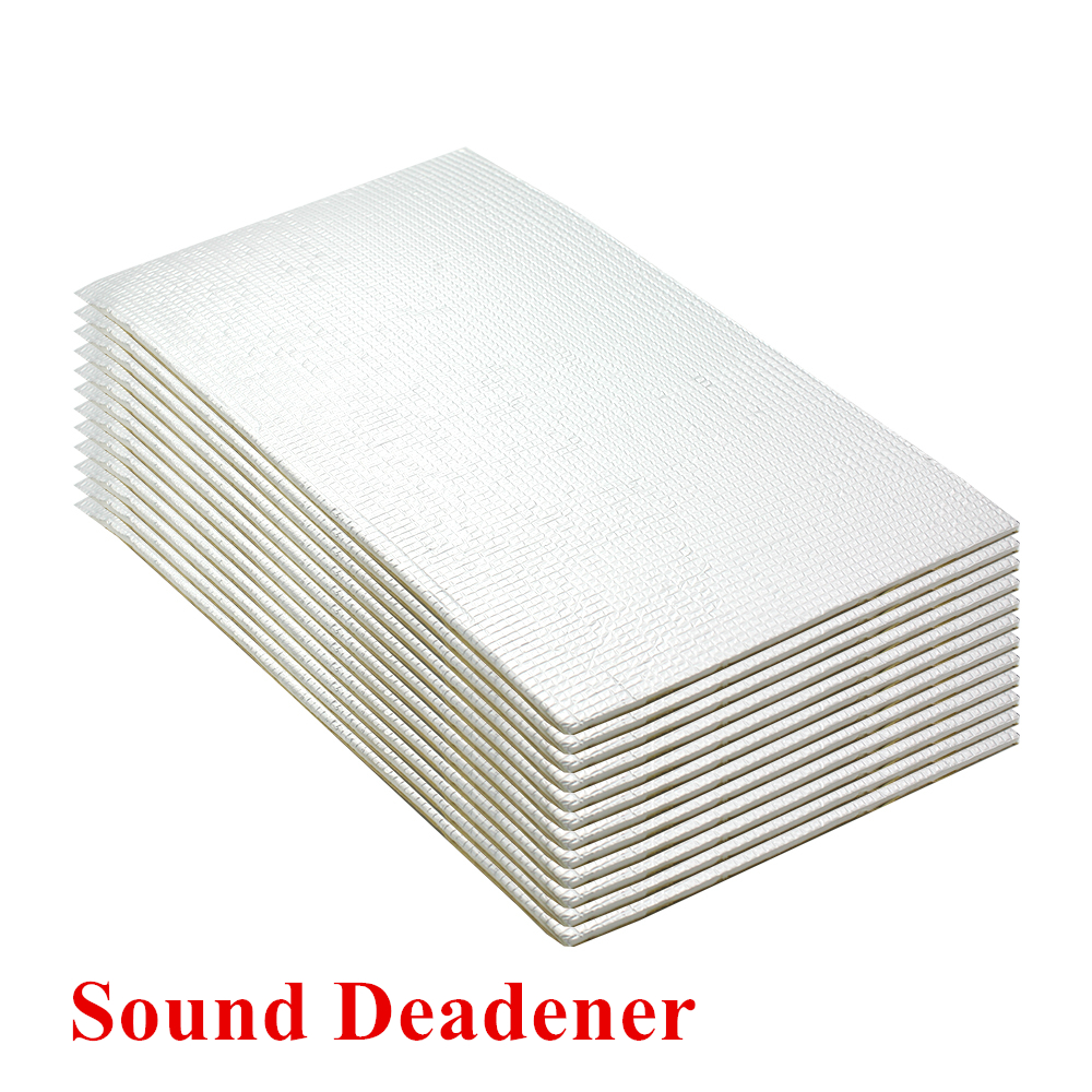 Acoustic Sound Damping Aluminum Foil Automotive Firewall Sound Deadener Heat Insulation  ...