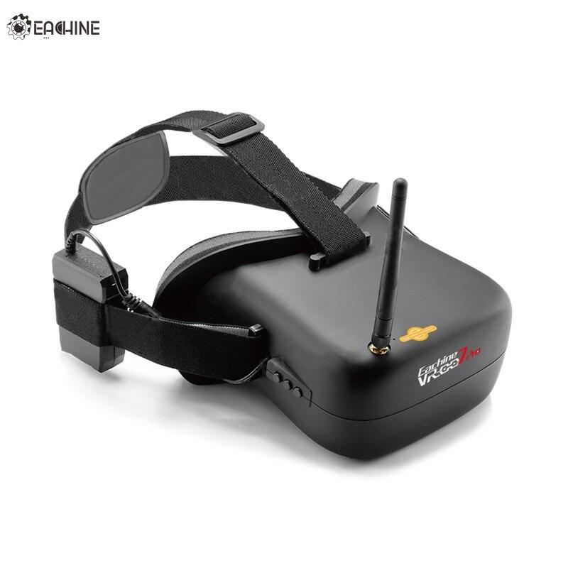Haute Qualité Eachine VR-007 Pro VR007 5.8G 40CH HD FPV Lunettes 4.3 Pouce Vidéo Casque Avec 3.7 V 1600 mAh Batterie Pour FPV Modèle