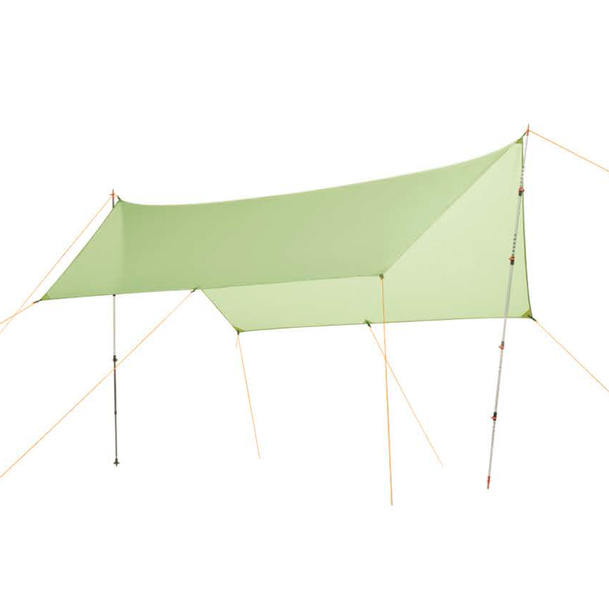 only 450g 20D silicone nylon Rain Fly Tent Tarp Shelter Camping Shelter Rainfly Sun Shelters and