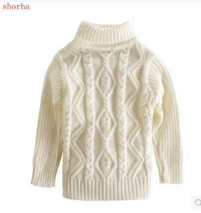 245cb5a8ab46 Girl sweater Autumn Winter Baby Girl Sweater Pullover Cartoon Cute Knitwear  Children Clothes Kids Turtleneck Outerwear