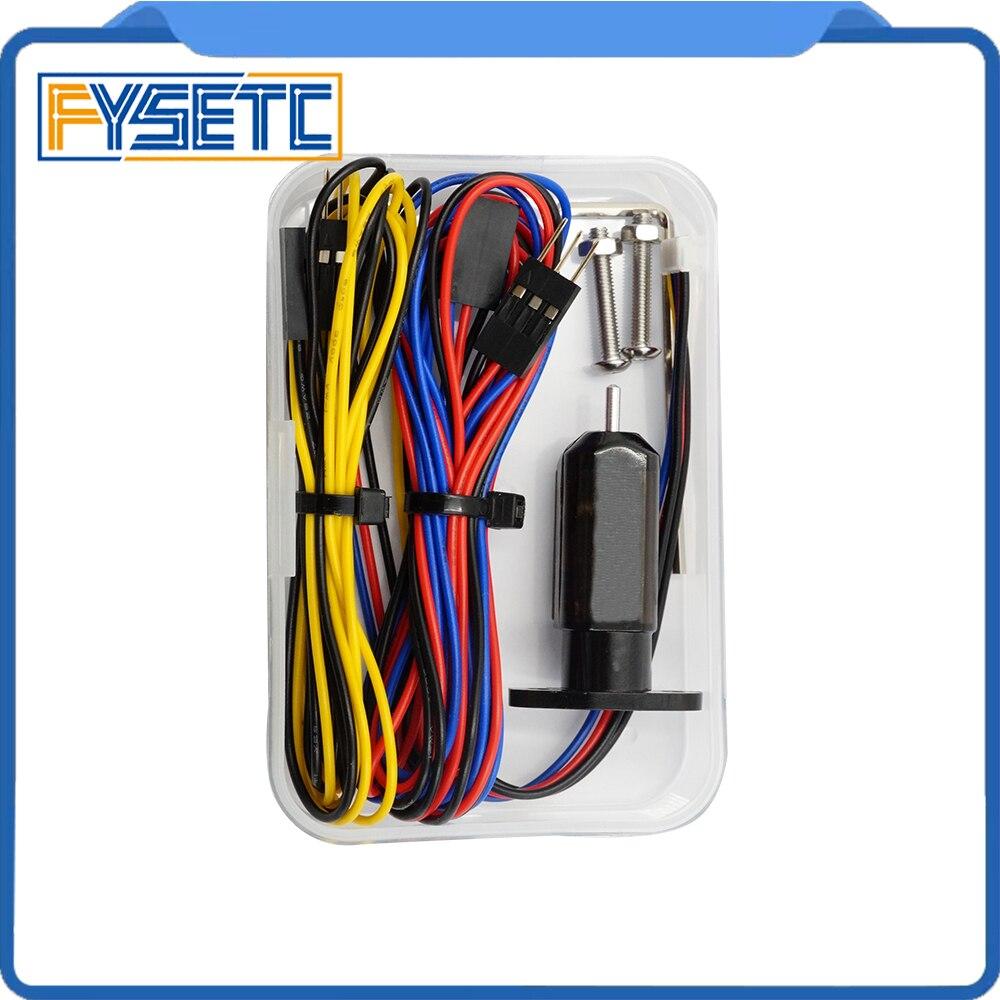 1 Unidades 3d impresora z-Sonda Touch Auto cama nivelación Sensor táctil Sensor para Anet A8 reprap mk8 i3 mprove precisión de impresión