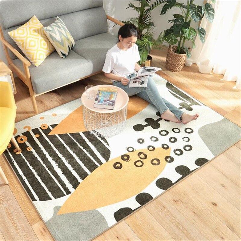Kid jouer tapis pour salon chambre enfant chambre tapis plancher porte tapis décor maison tapis délicat moderne Chenille tapis
