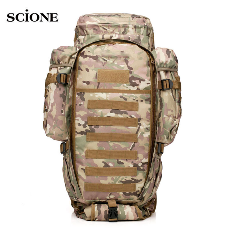 USMC Military Molle Bag Camping Tactical Backpack Men Large Waterproof Travel Outdoor Sport Bag Shoulder Rifle Rucksack XA433WA free shipping men women unisex outdoor military tactical backpack camphiking bag rucksack 50l molle large big ergonomic gear