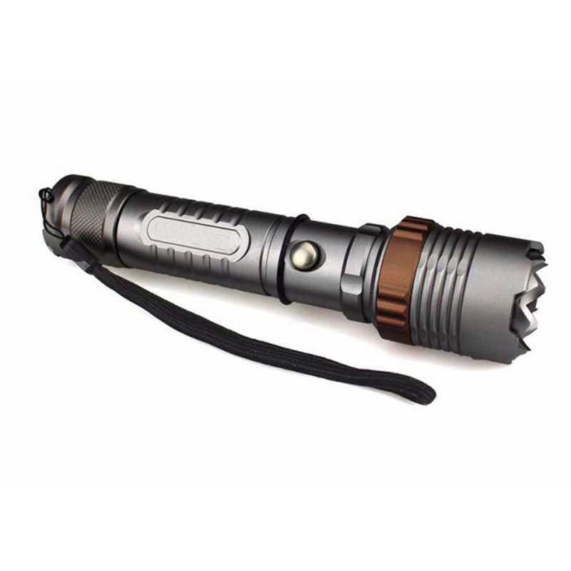 Torch Flashlight T6 Led Flashlight Torch Zoomable Tactical 18650 Charger Box Led Flashlight Rechargeable Fanatic #4s12 Clearance Price Led Flashlights Lights & Lighting