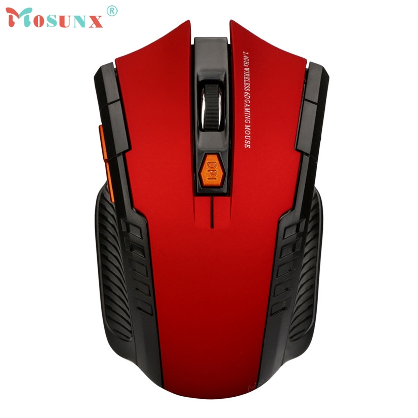 2018 Wireless Mouse 2.4Ghz Mini Wireless Optical Gaming Mouse Mice& USB Receiver For PC Laptop 20M Drop Shipping