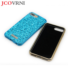 JCOVRNI для iphone 7 8 плюс 2 в 1 модный Блеск Дизайн чехол для телефона женский чехол для iphone X XS задняя крышка чехол Fundas Coque