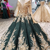 AIJINGYU Illusion Wedding Dress Train Luxury Sexy Boho Long Sleeve 2019 Stores Mexico Amazings Find Me A Gown Bridal Wear