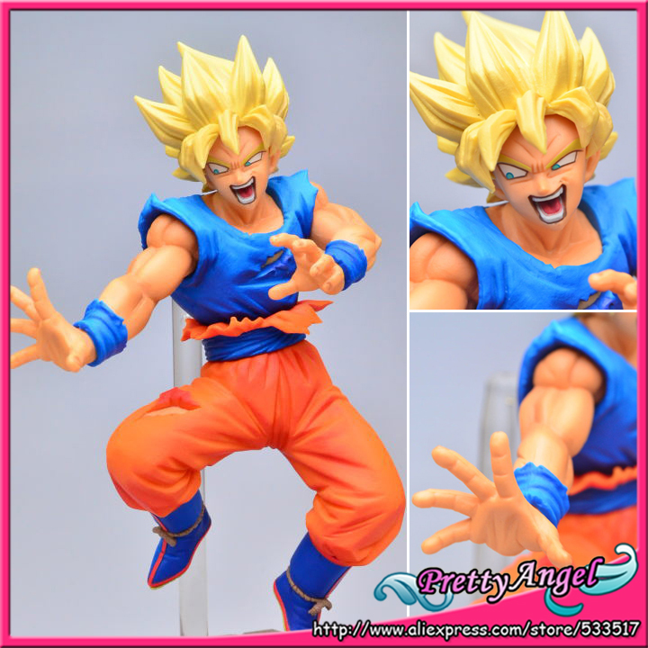 Dragon Ball Z Kai DXF Fighting Combination vol3 Goku Saiyans Warriors Figure