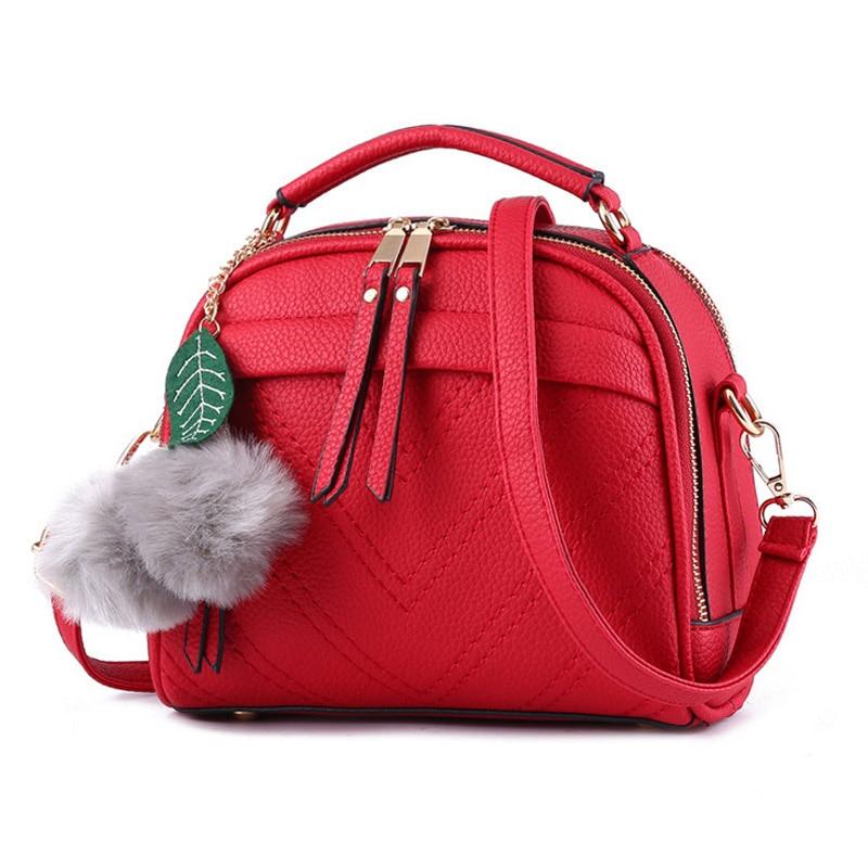 Leather Ladies Messenger Messenger Bag Summer Ladies Bag Green