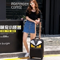 Small travel bag universal wheels female14 20 luggage bag personalized luggage trolley suitcase male