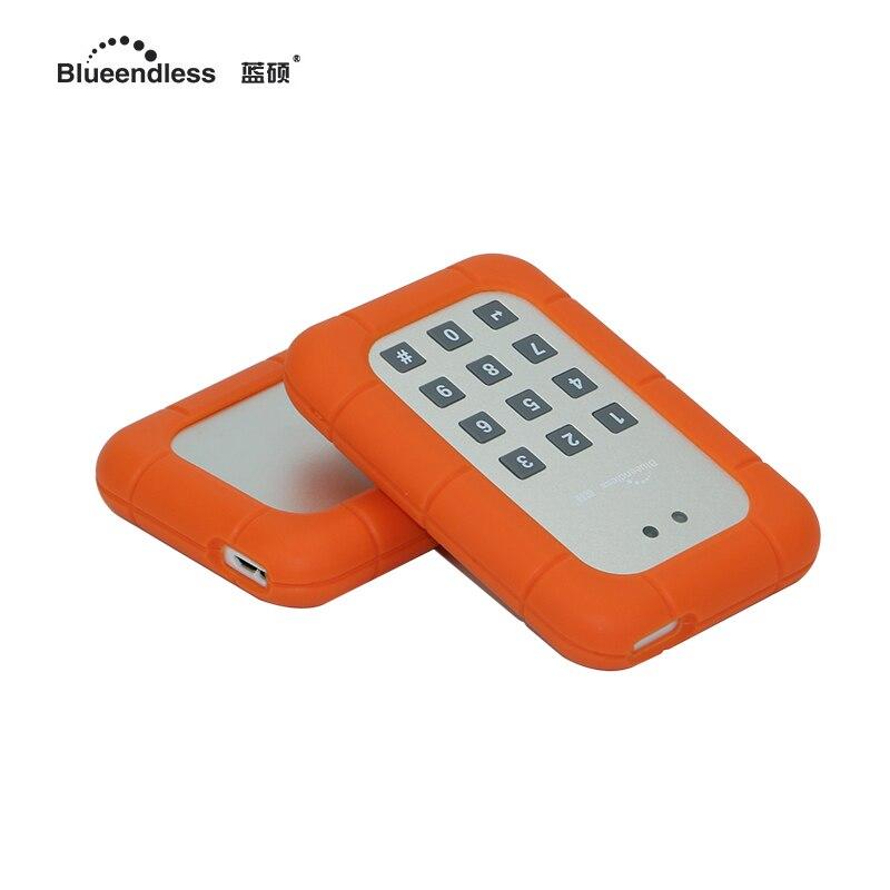 внешний жесткий диск 1 ТБ/750 г/500 г/320Г шифрования внешний HD жесткий диск механического состояния Привод безопасная конструкция пароль 2.5 SATA жесткие диски
