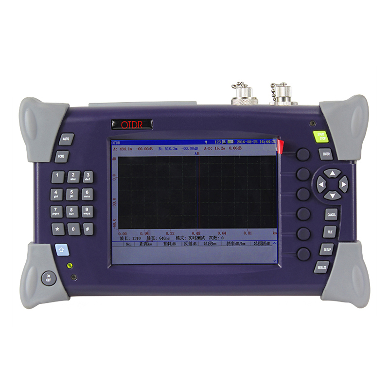 OTDR-2000 Optical Time Domain Reflectometer Fiber Optic 1310nm / 1550nm 15 / 16dB Breakpoint Tester Fault Locator