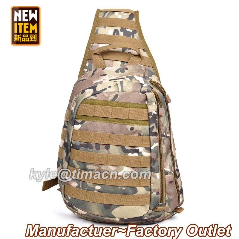 Prix pour Hommes Tactique Poitrine Sac Matériel Militaire Sport En Plein Air En Nylon Chest Pack Bandoulière Sling Tactique Hommes Sacs Messenger