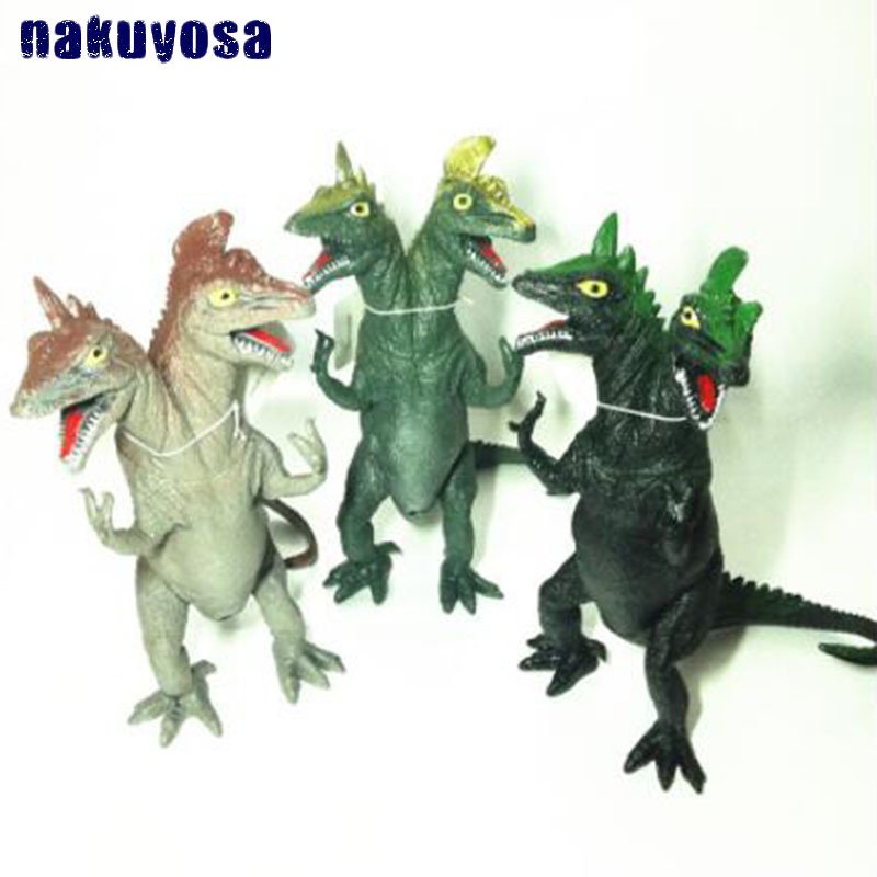 Dino monster Dinosaur Plastic Toy Model Kids Gifts Simulated Double Head Dinosaur Toy Monster Dinosaur Model Educational Toys