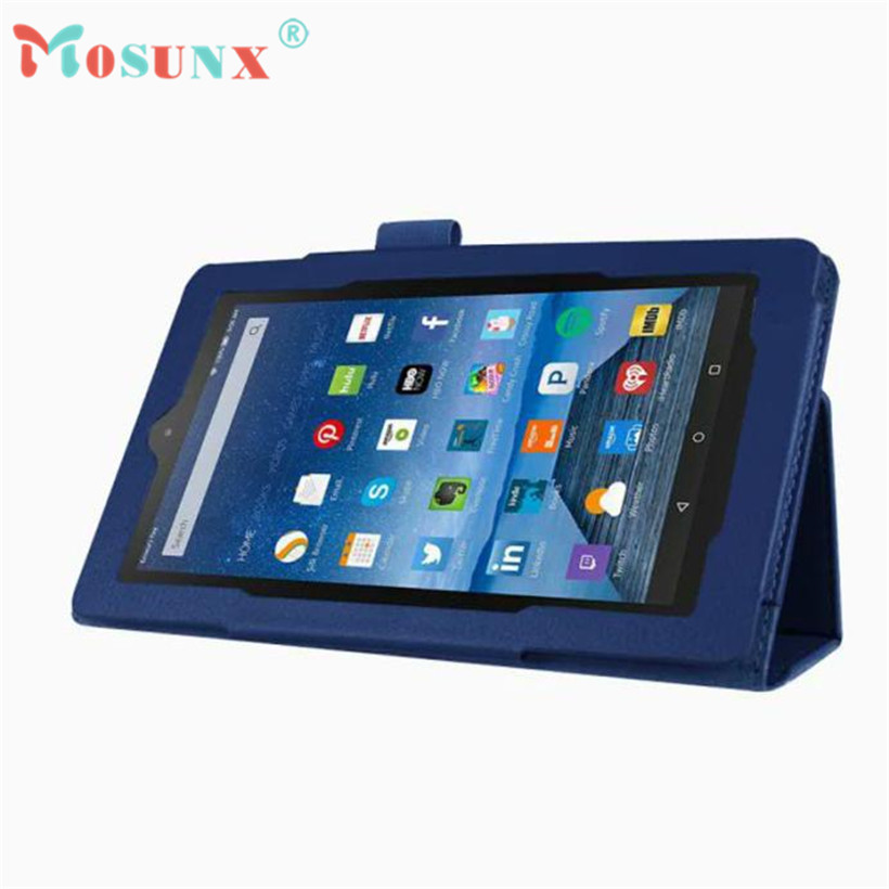 Mosunx Hot Advanced tablet Leather Case Stand Cover For Amazon Kindle Fire HD 7 1PC
