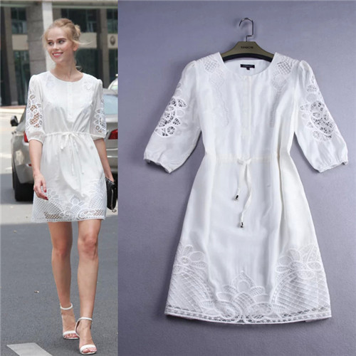 Aliexpress.com : Buy high street fashion brands all white casual ...