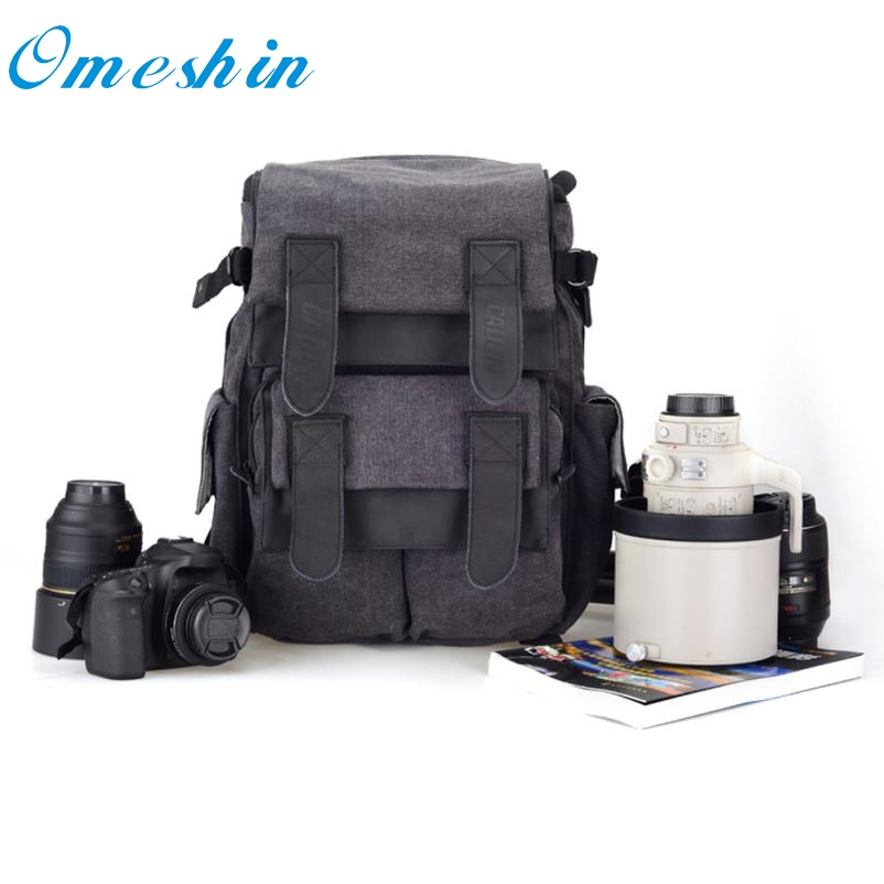 ФОТО Beautiful Gift New Blue 1PC CADEN D5 Travel Shoulder Messenger Bag Camera Carry Case for Canon DSLR SLR Wholesale price Feb18
