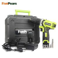 10.8 Volt DC Lithium Ion Battery 10mm 2 Speed Electric Cordless Drill Mini Screwdriver Power Tool