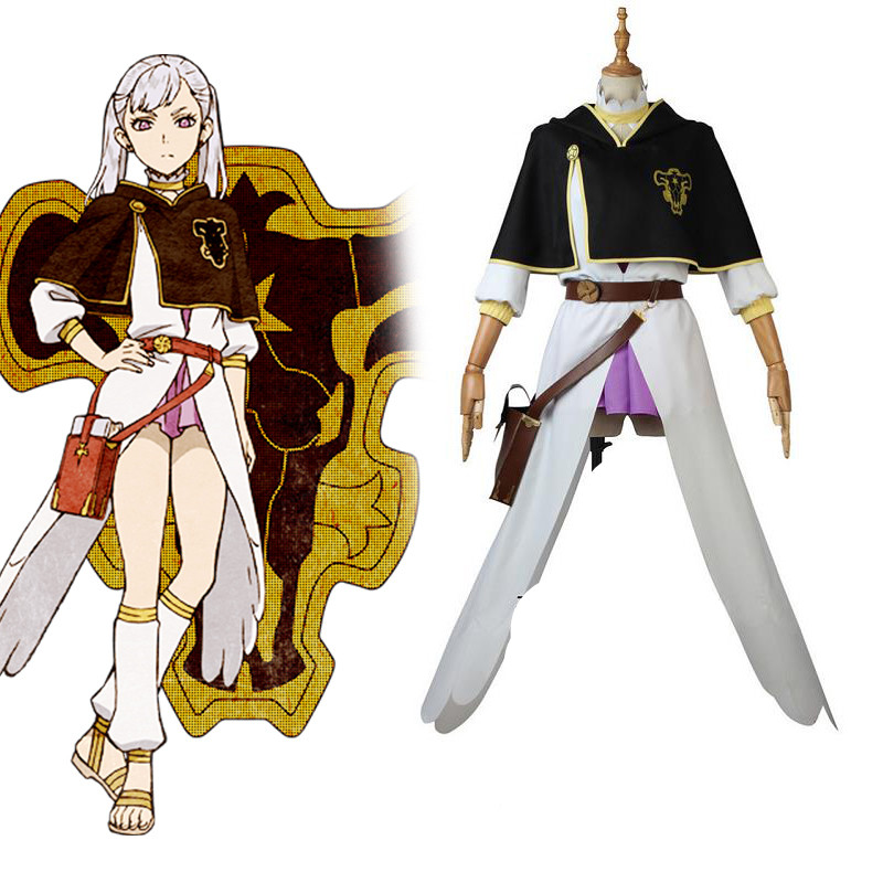 Noell Silva Black Clover Anime Cosplay Noell Silva cosplay costume