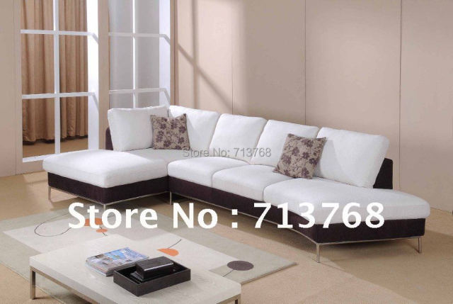 Modern Furniture Living Room Fabric Sofa Corner Sectional MCNO759