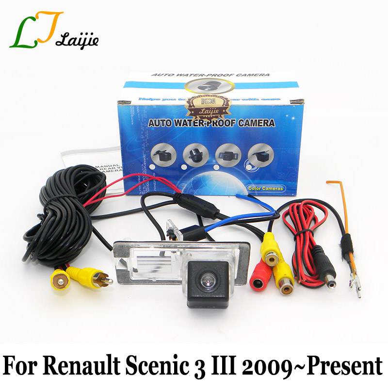 For Renault Grand Scenic 2 II 3 III 2003~2016 / HD CCD Night Vision With Power Relay Car Parking RearView Camera