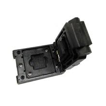 Free Shipping BGA64 1.0MM Burn in Socket IC size 11*13 mm/BGA64 IC Test Socket / FBGA64 burning socket все цены