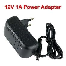 Adapter do kamery/DC 12V 1A zasilacz ue lub usa podłączyć do 12V kamery monitoringu