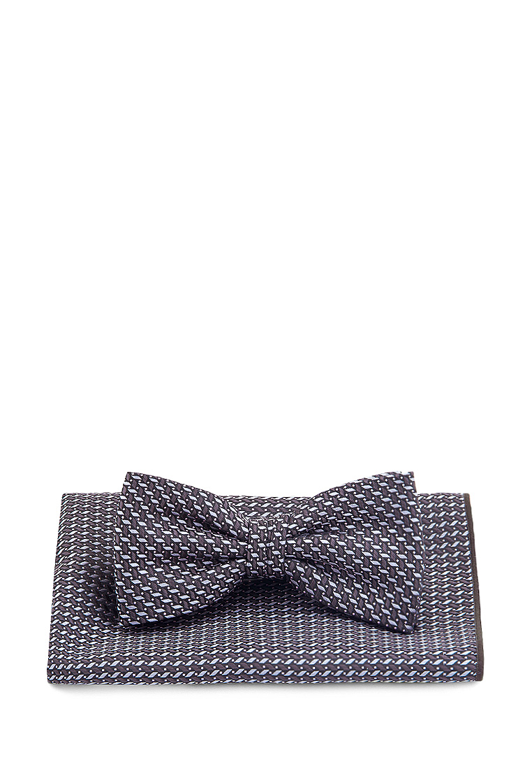 [Available from 10.11] Bow tie male handkerchief CARPENTER Carpenter poly 2 gray 710 1 110 Gray kalasity kalasity ka030awjal60