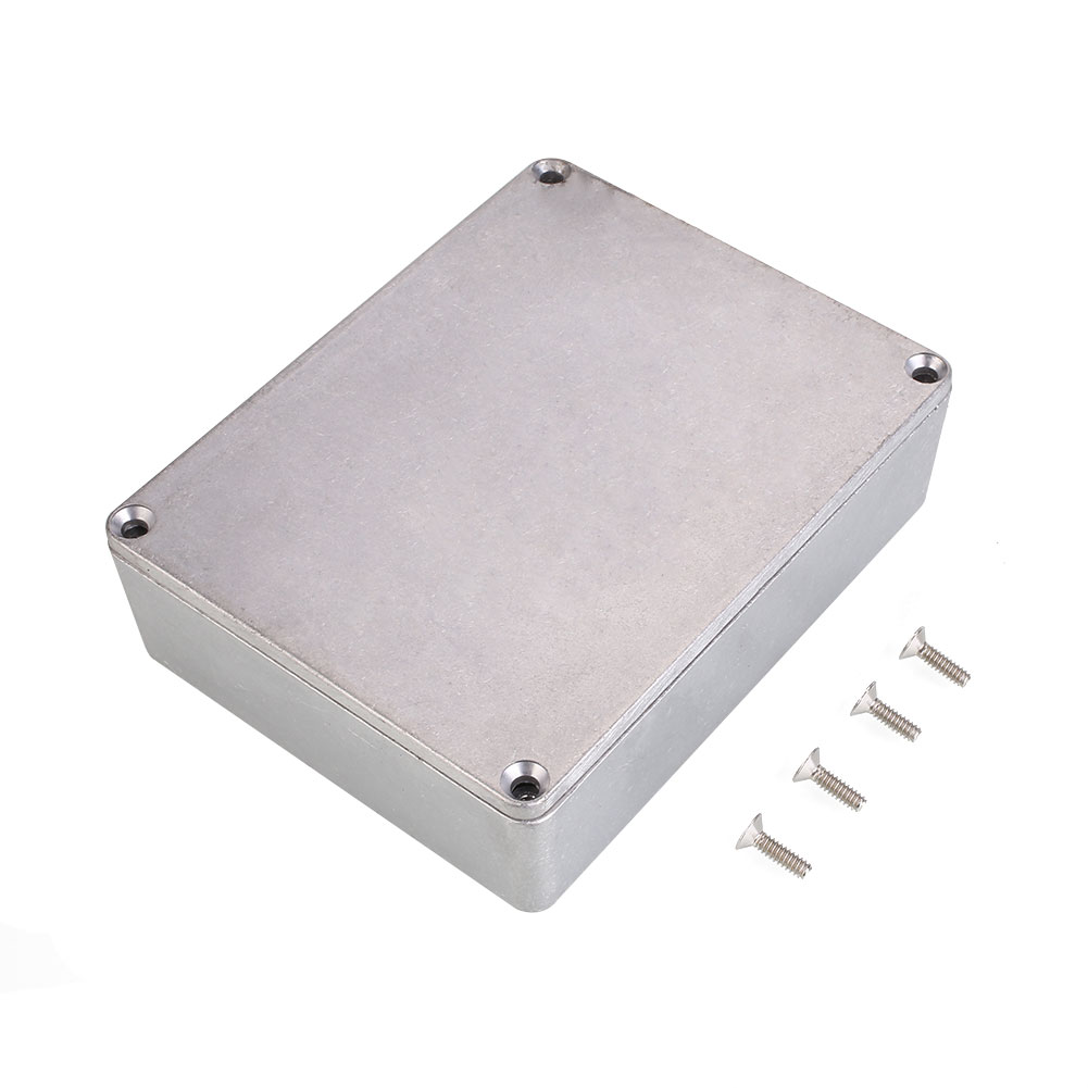 a847aebc43 Metal Alloy Stomp Box Effect Pedal Enclosure For Guitar Instrument 1590BB  Style