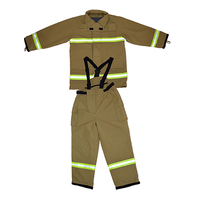 EN 469 fire fighter gear/bunker gear/turnout gear/Fire suit/fireman suit/bunker suit