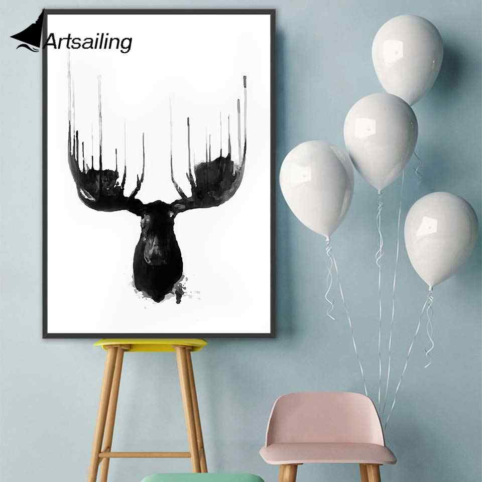 ArtSailing Abstract Nordic canvas art motivational quote Home decoration posters Pictures for Living Room modern Painting