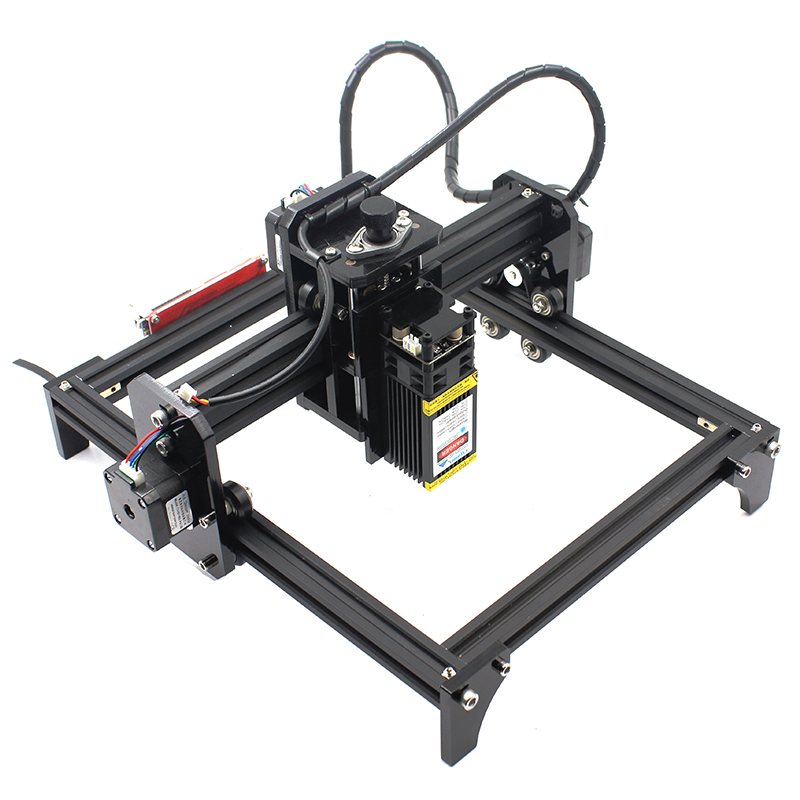oxlasers 15W 5.5W high power DIY laser engraving machine CNC laser eagraver laser cutter can engrave stainless steel with PWM
