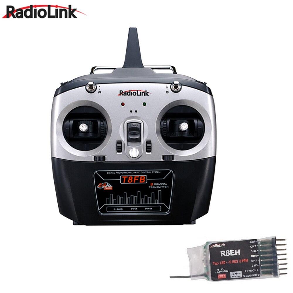 Радиолинк T8FB 2,4 ГГц 8ch передатчик удаленное управление r8eh приемник комбинированный для Вертолет для радиоуправляемого квадрокоптера DIY