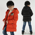 2016 Winter Boys Wadded Jacket Children's Clothing Outwear Kids Parka Coat Fashion Casual Cotton Hooded Warm Clothes