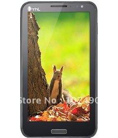 """Free leather case Original Thl W6 Android 4.0 MT6577 1GHz Dual Sim 5.3""""QVGA 3G WCDMA android smartphone HK POST Free shipping"""