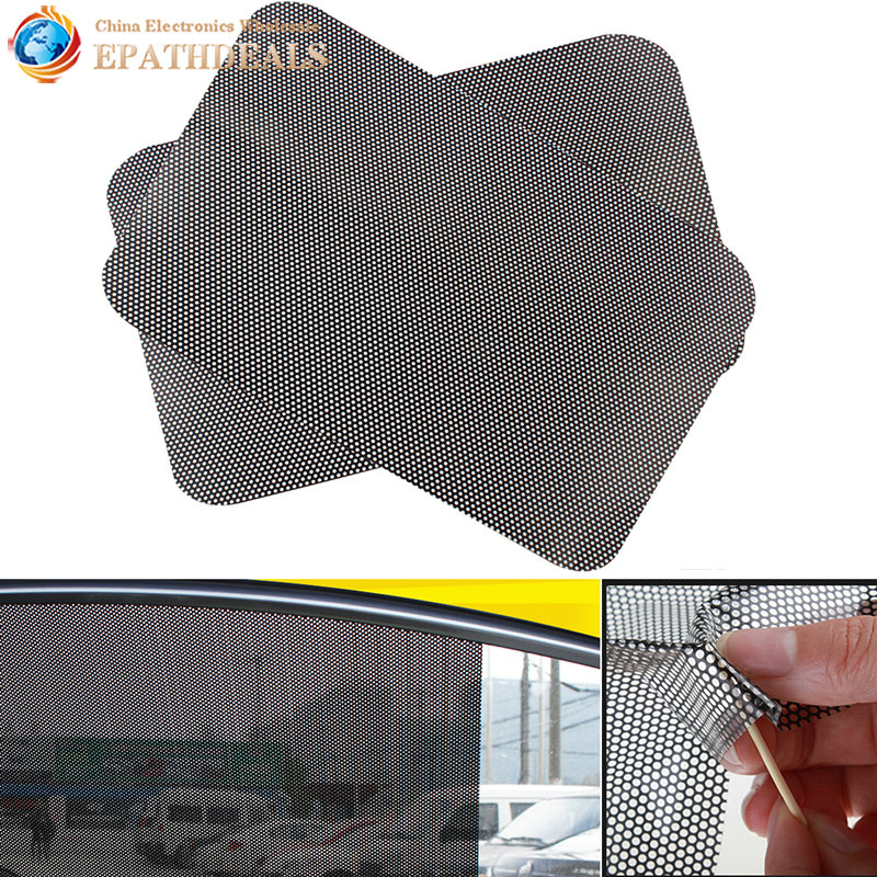 car curtain windshield sticker sun shade uv protection sunshade shield cover side window film. Black Bedroom Furniture Sets. Home Design Ideas