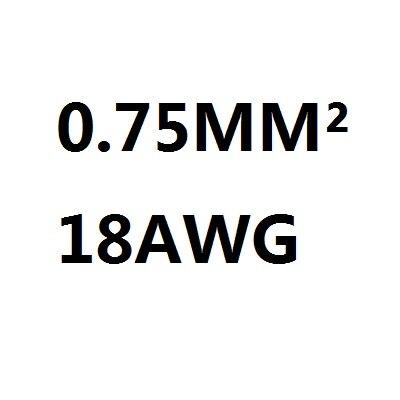 18 AWG 0.75MM2 RVV 2/3/4/5/6/7/8/10/ 12/14/16/18 kerne Pins Kupfer ...