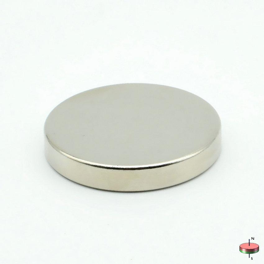 8-2000pcs N42 NdFeB Magnet Disc Diameter 30x5 mm Strong Neodymium Magnets Rare Earth Magnets Permanent Sensor magnets