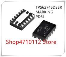 NEW 10PCS/LOT TPS62745DSSR TPS62745 MARKING PD5I IC REG BUCK PROG 0.3A WSON-12