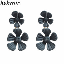 Flowers  earrings female students contracted temperament elegant Fashion jewelry earring The little flower