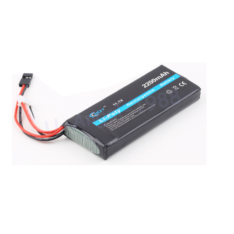 1 stücke Rc lipo Batterie 11,1 v 2200 mah 3 s 3PK Transmitte batterie für RC Futaba 3PK Sender