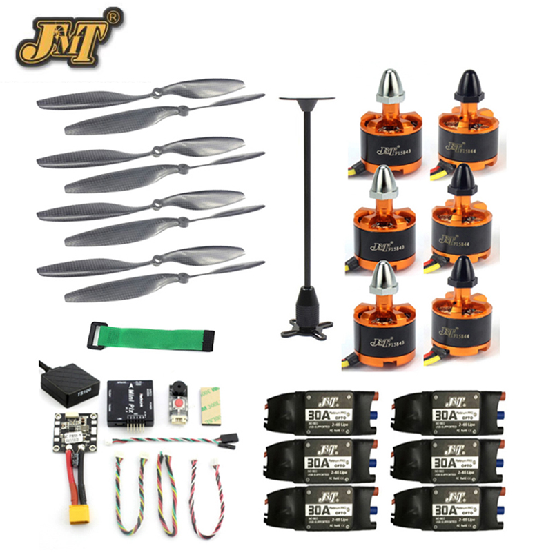 JMT DIY Kits Radiolink Mini PIX M8N GPS Flight Control 920KV Brushless Motor ESC Propeller for 6-axis/4-axis RC Helicopter f02015 g 6 axis foldable rack rc quadcopter kit apm2 8 flight control board gps 1000kv brushless motor 10x4 7 propeller 30a esc