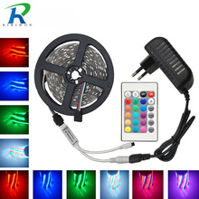 RGB Led Strip Light 2835 DC12V 5M 10M 15M 20M Waterproof Flexible Lighting String Ribbon Tape Home Decoration