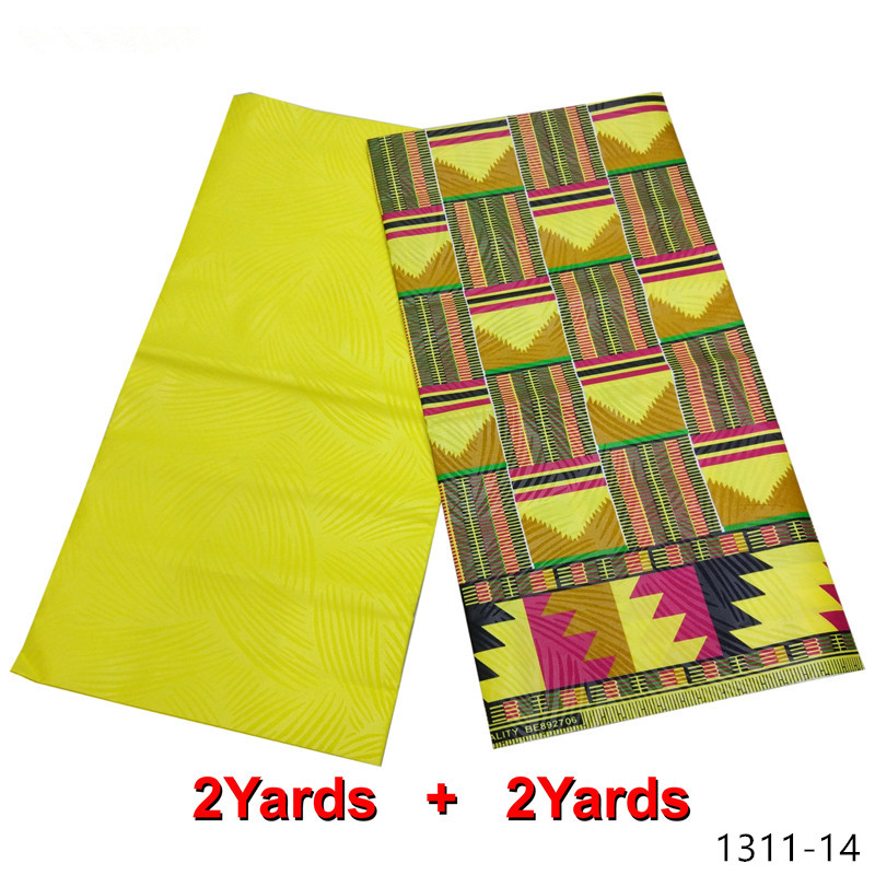 Nigerian new java new wax 100 polyester african beautiful wax print fabric ankara hitarget wax fabric luxurious design 1311 1 in Fabric from Home Garden