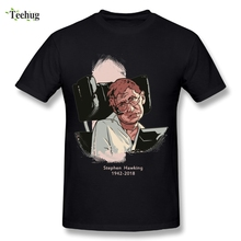 3D Print Men's Stephen Hawking 1942-2018 T Shirt Summer Leisure Nice Tees O-neck T-shirt свитшот print bar summer nice