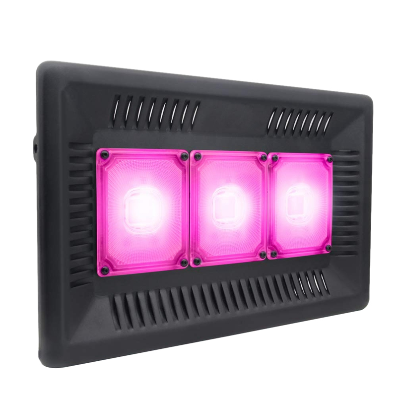 Led Grow Light Full Spectrum 1500W 110V Ip67 Cob Grow Led Flood Light For Plant Indoor Outdoor Hydroponic Greenhouse Us Plug