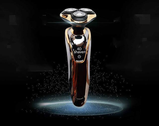 Venda quente recarregável barbeadores 4 d inteligente lavagem do corpo de três lâminas de barbear produtos de qualidade masculinos privado ordenação das ferramentas de corte