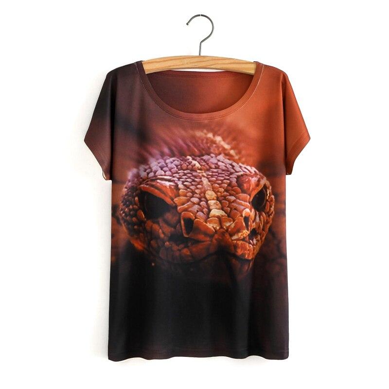 HTB1QEC5OVXXXXX4XVXXq6xXFXXXI - White Tiger 3D Print T-Shirt Women Summer Clothes