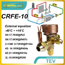 CRFE-10 R410a 21.1KW охлаждения емкость внешних TVX с SAE flare связи заменить Danfoss ВАННА, ТРУБКИ, БКТ и TUCE