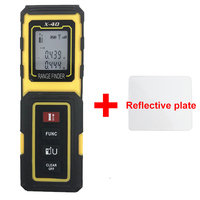 X Model Digital Laser Rangefinder Color Display Rechargeabel 40M Laser Range Finder Distance Meter Free Shipping